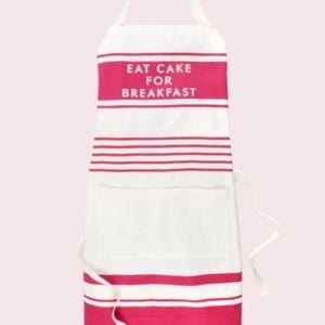 Kate Spade | Eat Cake for Breakfast Kitchen Apron